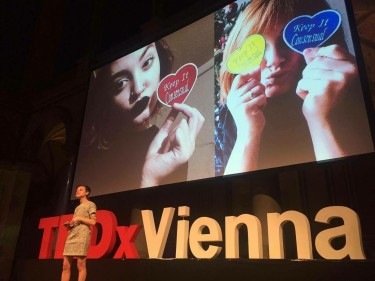 Speaking at TEDxVienna, May 2016