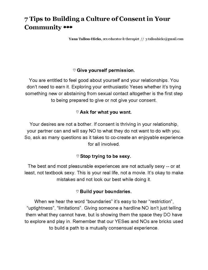 picture about Free Printable Patient Education Handouts titled Consent Handout for Teenagers -
